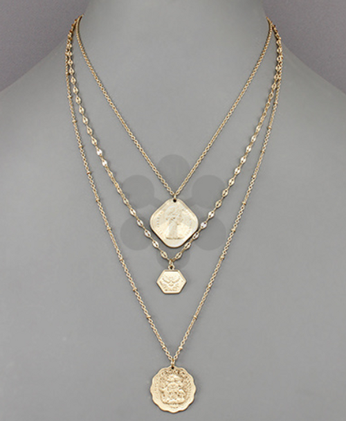 Arielle Coin Necklace