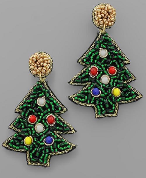 Rock Around The Tree Earrings