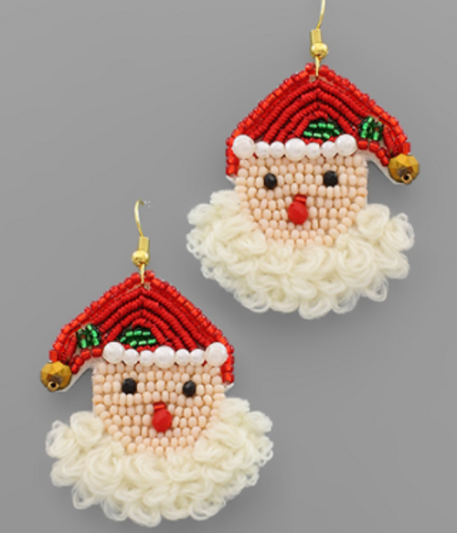 Jolly St. Nick Earrings