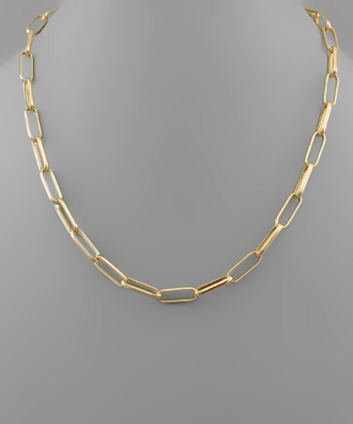 Willomina Link Gold Necklace