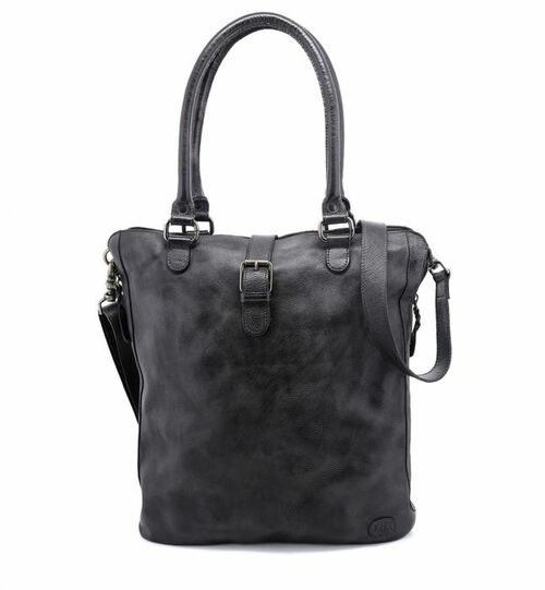 Mildred Black Shoulder Tote Bag