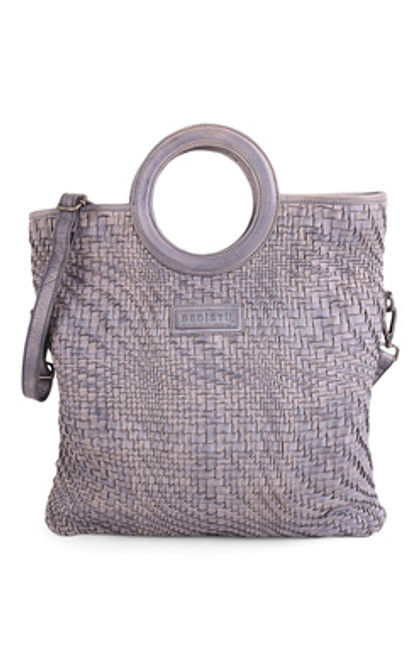 Adele Light Grey Rustic Crossbody Handbag