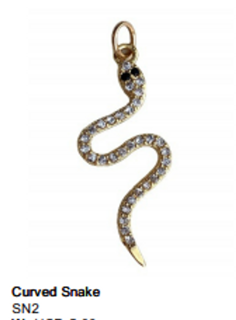 Curved Snake Charm