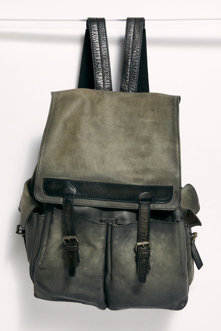 Trailblazer Leather Backpack