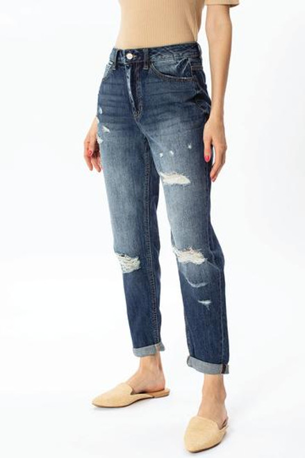 Andie Ultra High Rise Mom Jeans