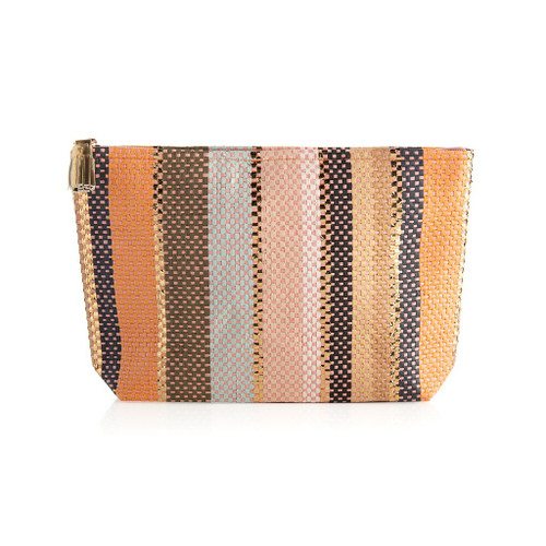 Milly Coral Zip Pouch