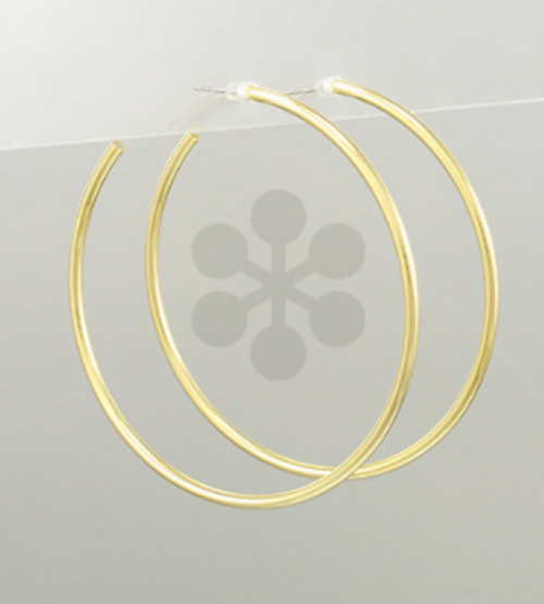 All Night Gold Hoops