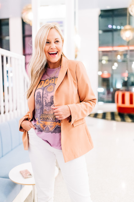 Work To Play Terracotta Blazer