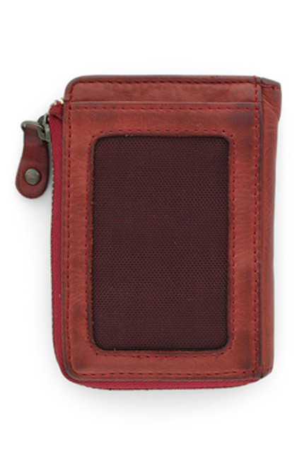Ava Red Dip Dye Wallet