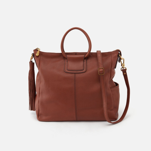 Sheila Toffee Crossbody Handbag