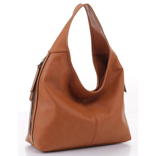 Let's Be Chic Brown Handbag