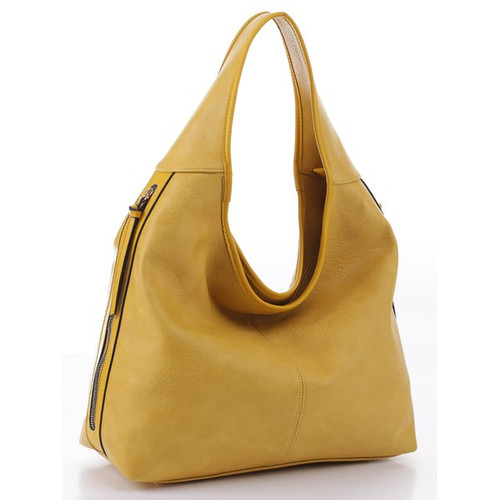 Let's Be Chic Mustard Handbag