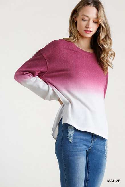 What You Always Wanted Mauve Top