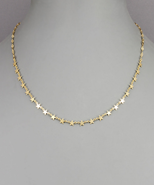 All Star Gold Necklace