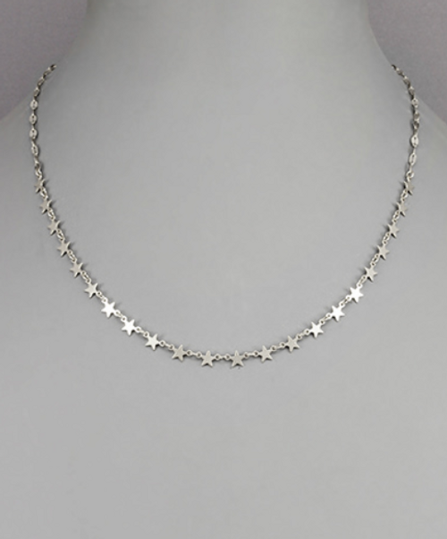 All Star Silver Necklace