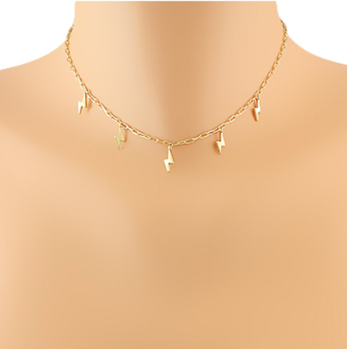 Striking Style Gold Necklace