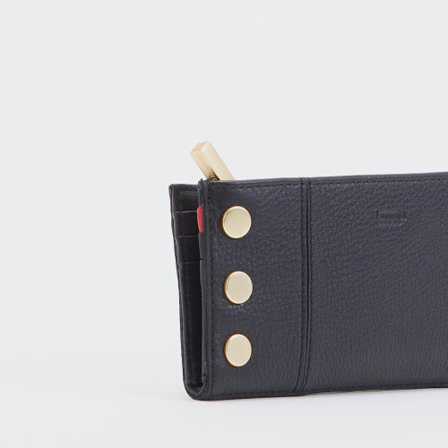 110 North Black Leather Wallet