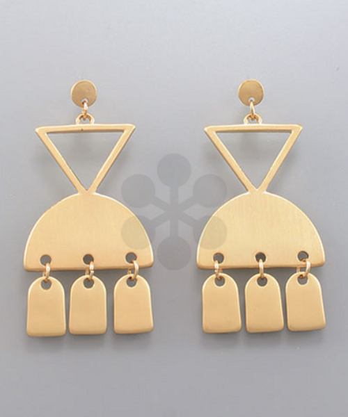 Navajo Warrior Earrings