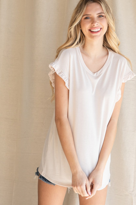 The Madison Ivory Top