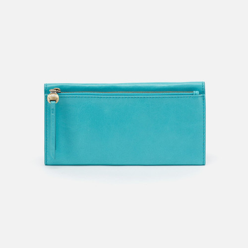 Arise Aqua Vintage Hide Wallet
