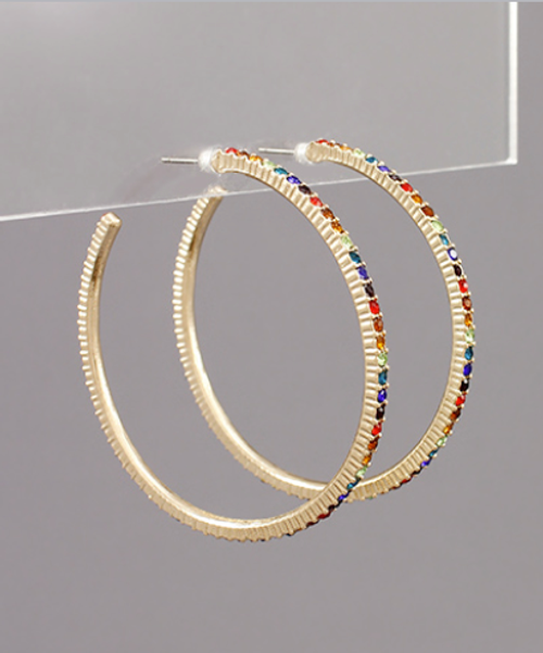 Simple Treasures Hoops