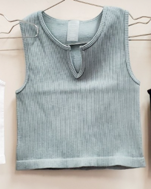 Can't Stop Me Crop Slate Tank
