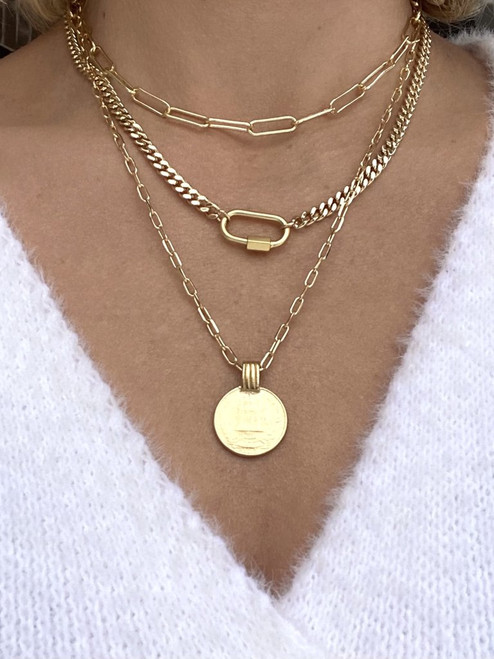 Crush 3 Layer Necklace