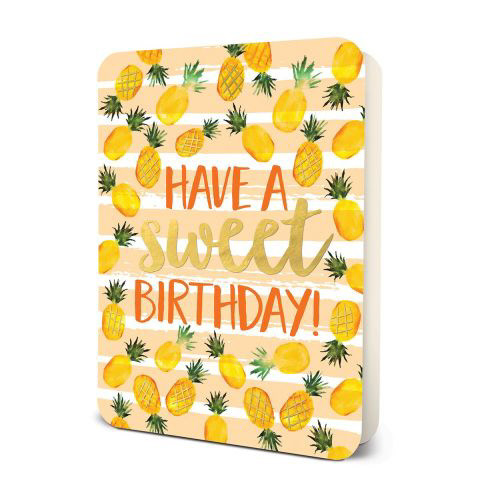 Pineapple Sweet Birthday Card Set