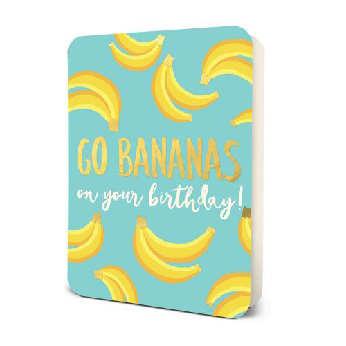 Go Bananas Birthday Card Set