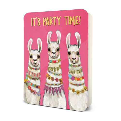 Party Time Llamas Card Set