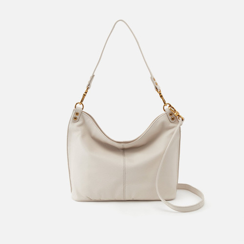Pier Powder White Convertible Shoulder Bag