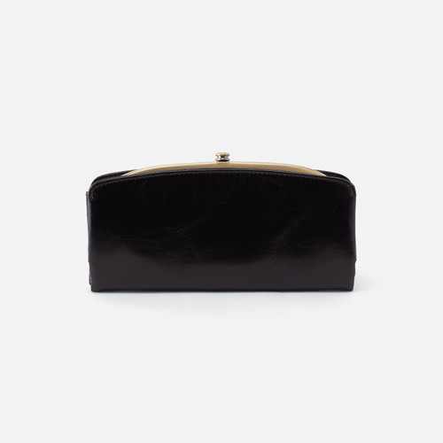 Poise Black Continental Wallet