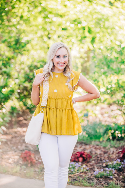 Delight In The Spring Top