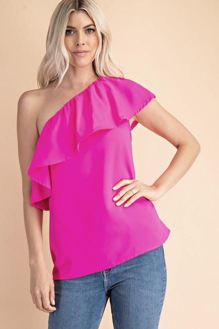 Love Swept Pink Top