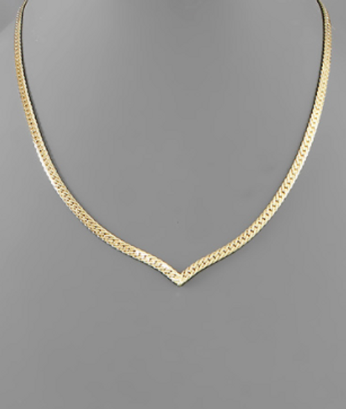 In The Valley Gold Necklace
