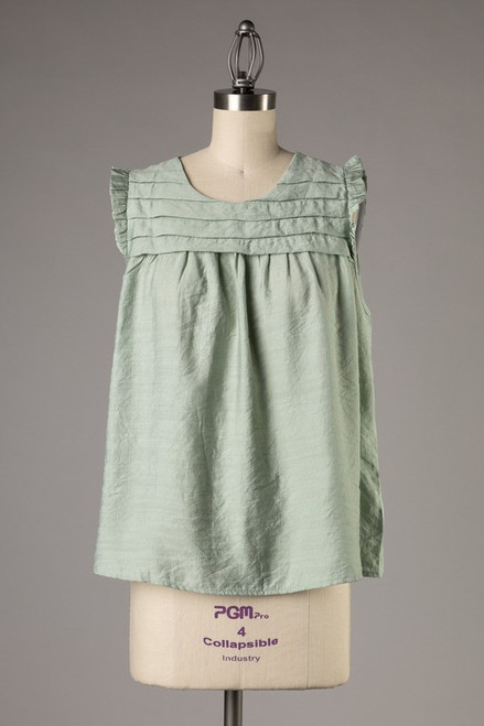 Perfect Love Mint Top