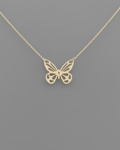 Up & Away Gold Necklace