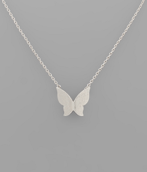 In The Sky Silver Necklace