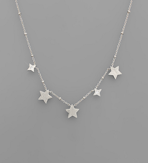 Light Years Silver Necklace