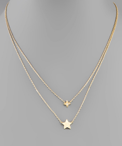 Star Gazing Gold Necklace