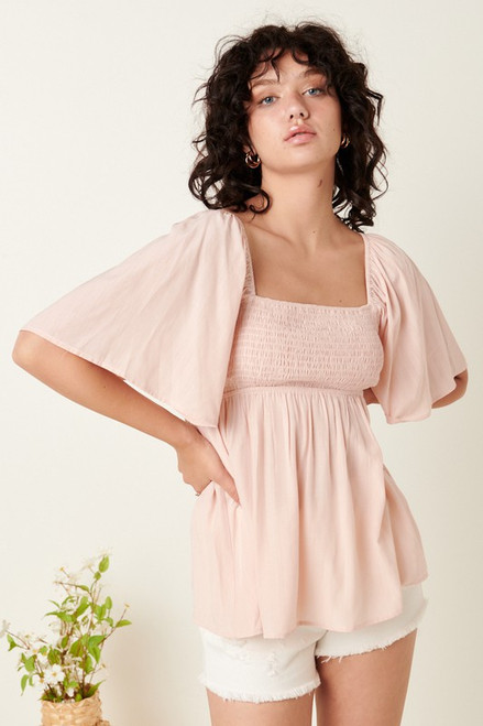 Like Being With You Blush Top