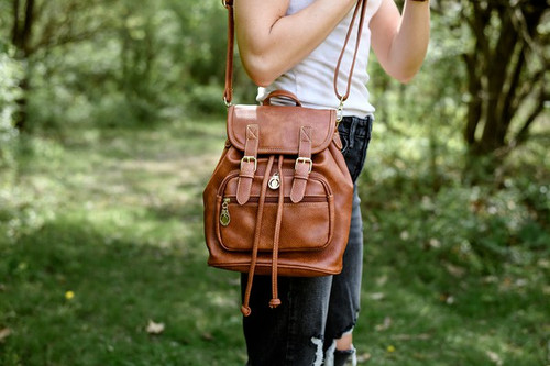 Vacation Brown Backpack