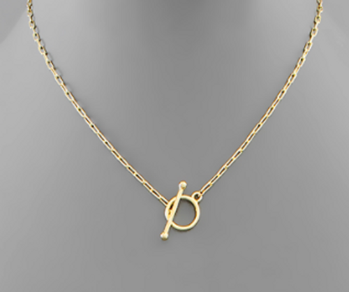 Free To Roam Gold Necklace
