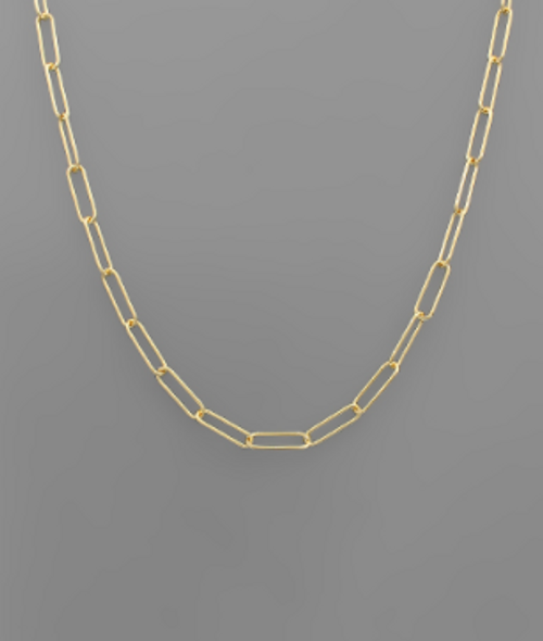 Bali Chain Gold Necklace
