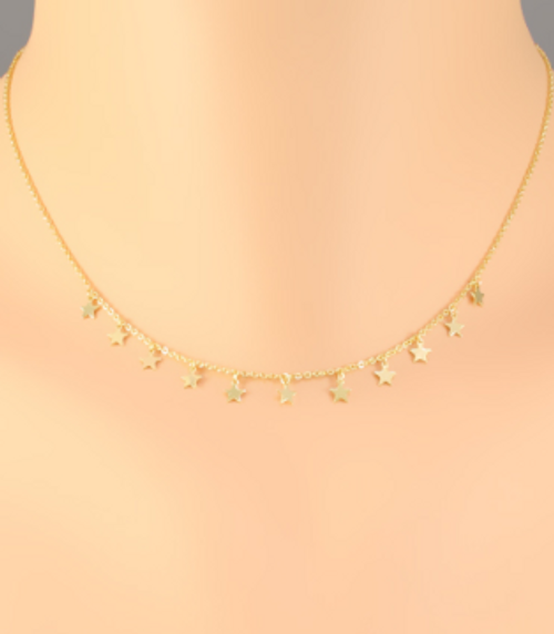 Count On It Gold Necklace