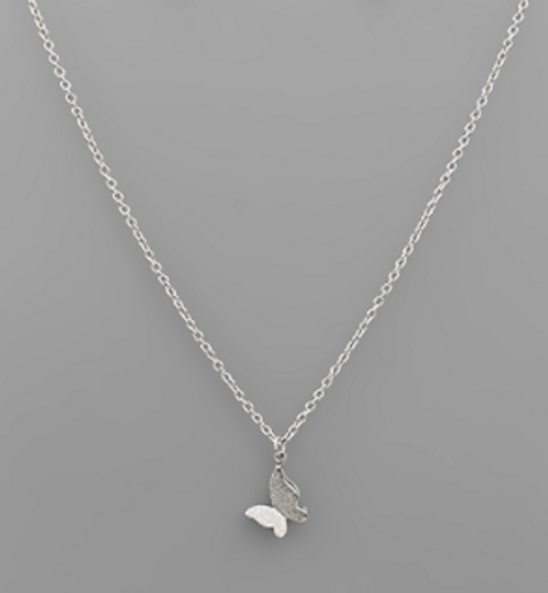In The Clouds Silver Necklace