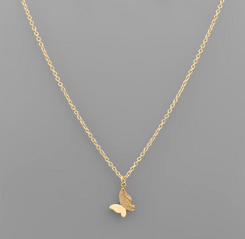 In The Clouds Gold Necklace