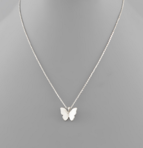 Above The Clouds Silver Necklace