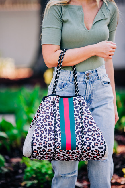 Carry My Love Leopard Tote