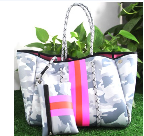 Essential Carry All Grey Tote